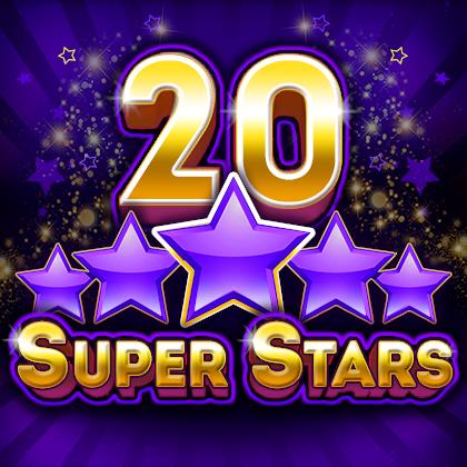 รีวิวสล็อต 20 Super Stars