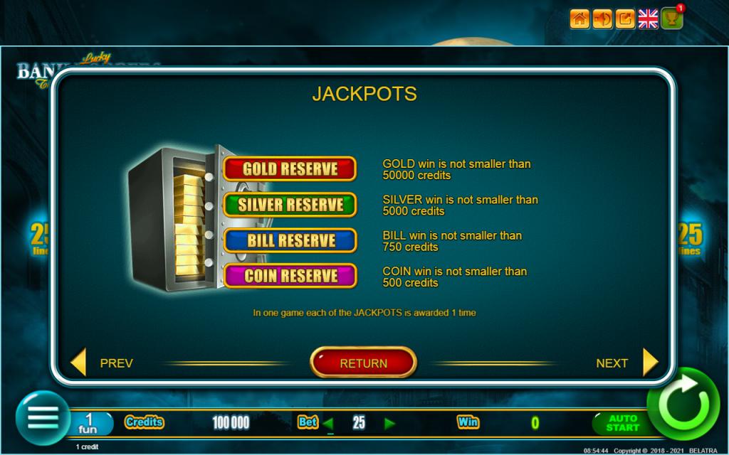 สล็อต Lucky Bank Robbers