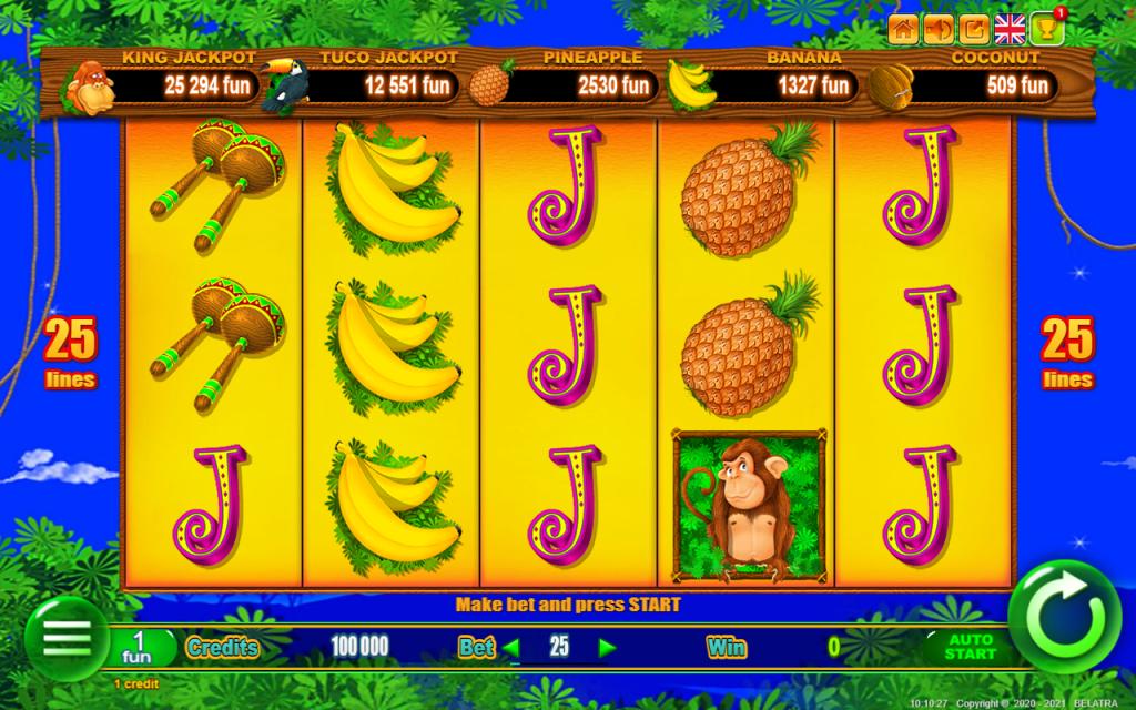 สล็อต Monkey Jackpot