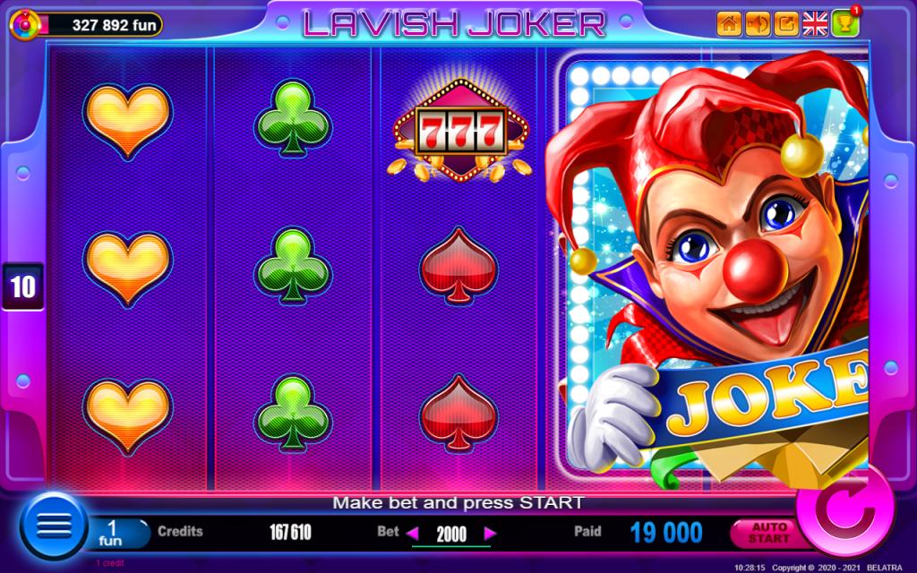 รีวิวสล็อต Lavish Joker